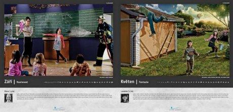 FOTO: Kapka naděje, kalendář 2012