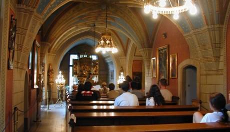 FOTO: Kaple sv. Huberta na zámku Konopiště