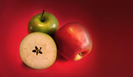 FOTO: Krajeni jablicka