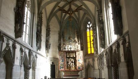FOTO: Královská kaple hradu Křivoklát