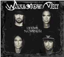 FOTO: Wanastovi Vjecy - Letíme na Wenuši (přebal CD)
