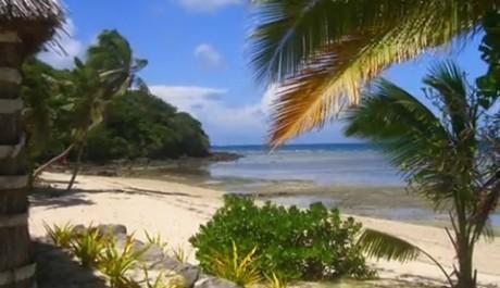 FOTO: Pláž ostrova Mamanuca