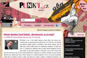 FOTO: studentský časopis Punkl.cz