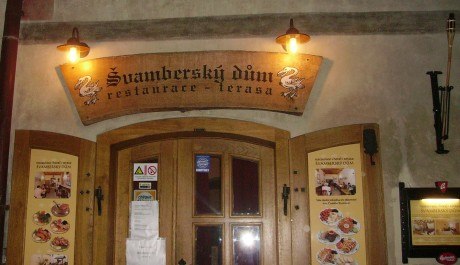 FOTO: Pension Švamberský dům v Českmém Krumlově