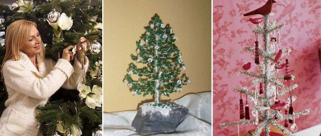 FOTO: Netradiční vánoční stromky