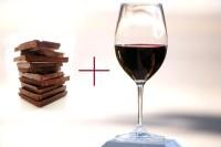 Foto: víno a čokoláda