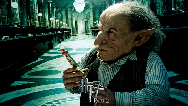 Goblin z Harry Pottera