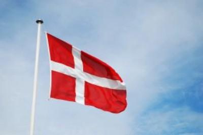 FOTO: Dánská vlajka