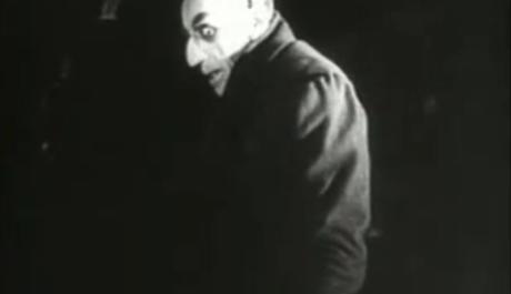 FOTO: Upír Nosferatu 1922, Zdroj: youtube.com