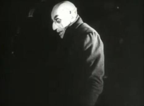 FOTO: Upír z Nosferatu 1922, Zdroj: youtube.com
