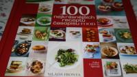 FOTO: Obal knihy 100 nejkrásnějších receptů časopisu F.O.O.D