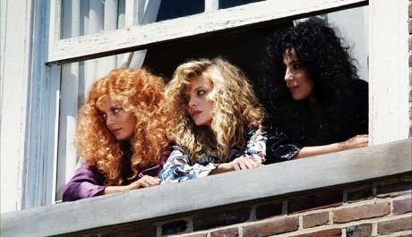 FOTO: Michelle Pfeiffer ve filmu Čarodějky z Eastwicku