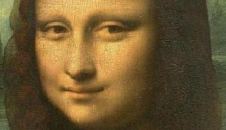 FOTO: Detail - Mona Lisa