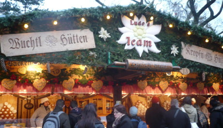 FOTO: Stánky na vánočních trzích