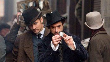 FOTO: Sherlock Holmes a dr. John Watson (vlevo)