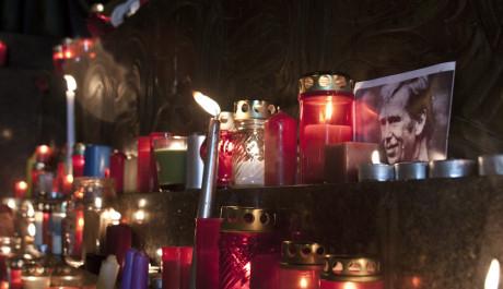 FOTO: Úmrtí Václava Havla, Václavské náměstí