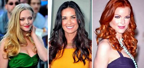 FOTO: Amanda Seyfried, Demi Morre, Marcia Cross