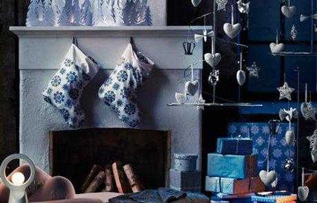 FOTO: Vánoční dekorace bytu