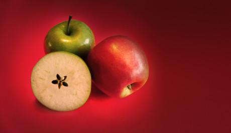 FOTO: Jablko s hvězdičkou