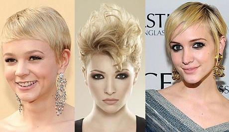 FOTO: Silvestrovské účesy pro krátké vlasy