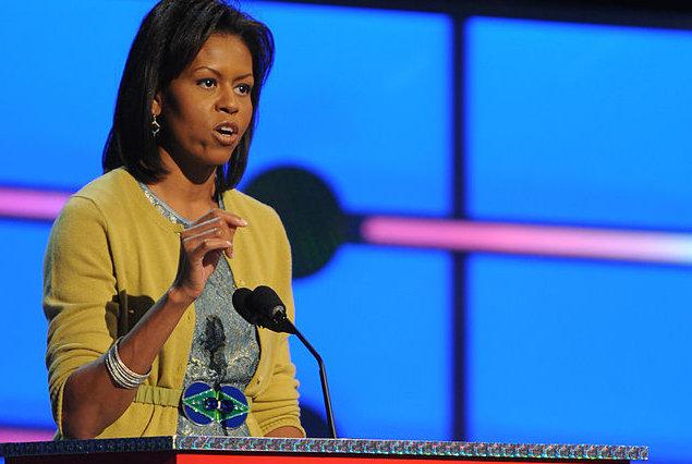 FOTO: Projekt Národních studentských básníků představila Michelle Obama