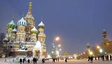 FOTO: Moskva v zimě