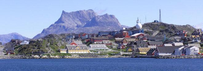 FOTO: Nuuk, Grónsko