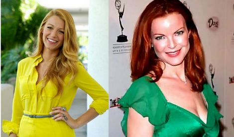 FOTO: Blake Lively, Marcia Cross
