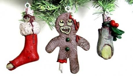 FOTO: Zombie vánoční ozdoby