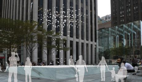 FOTO: Návrh pro instalaci do veřejného prostoru