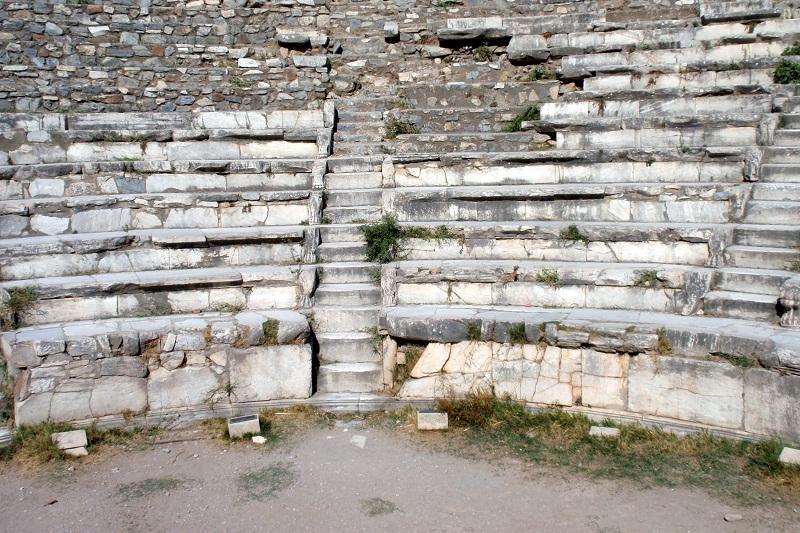 FOTO: Amfiteátr v tureckém Efesu
