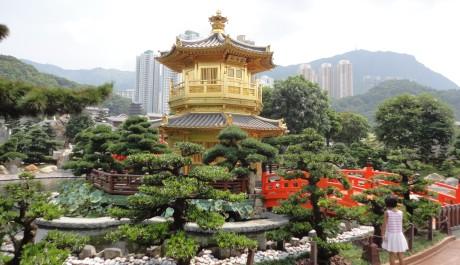 FOTO: Hongkong-budhistický chrám