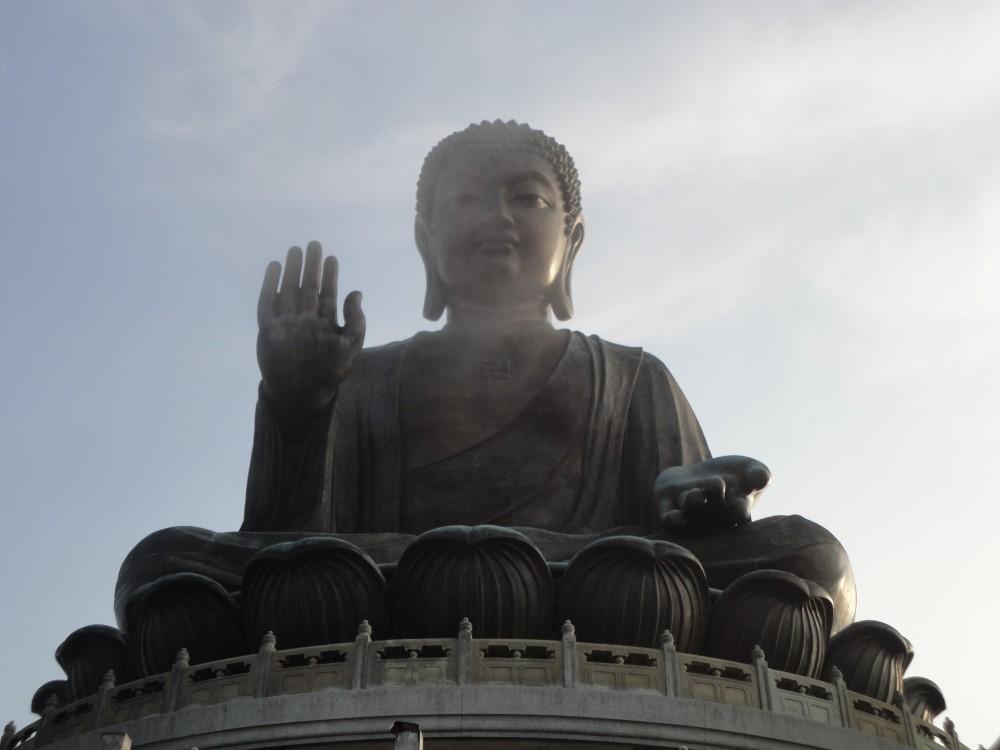 FOTO: Hongkong-velký buddha
