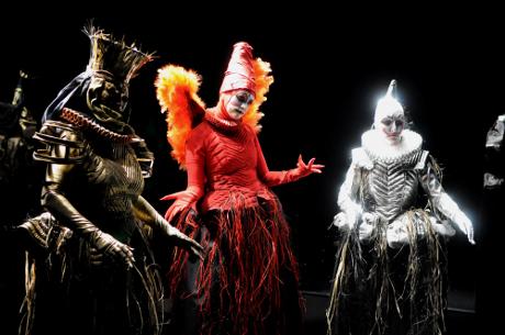 FOTO: Tři čarodějnice ze Shakespearova Macbetha (DJKT, 2011)