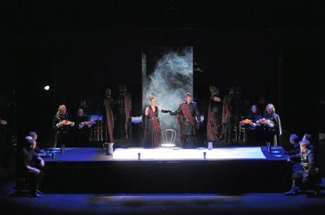 FOTO: Hostina ze Shakespearova Macbetha (DJKT, 2011)
