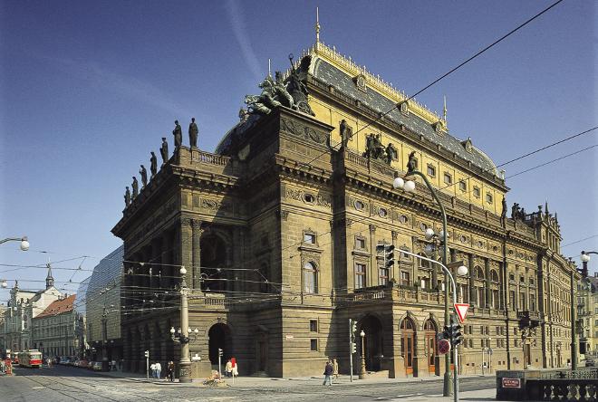 FOTO: Budova Národního divadla
