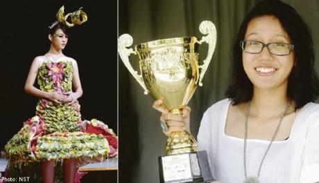 FOTO: Šaty ze 4 000 pytlíků čaje