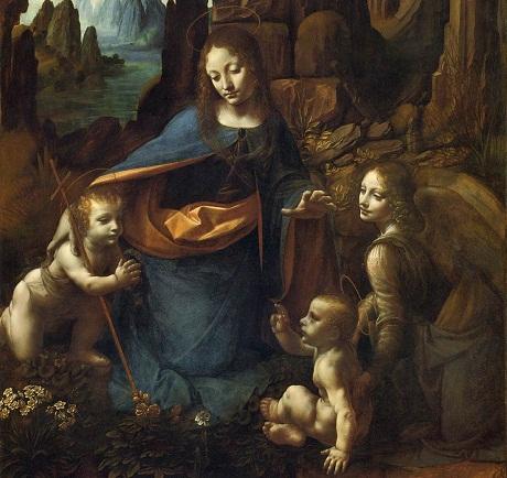 OBR: Leonardo da Vinci Virgin at the rocks