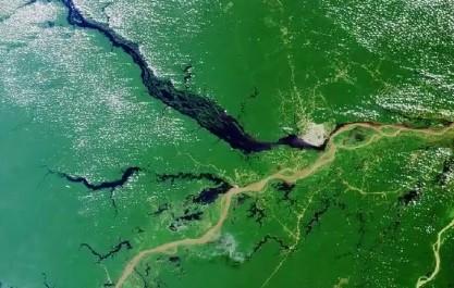 FOTO: Proud řeky Amazonky.