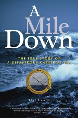 obálka David Vann: A Mile Down (EN)