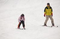 FOTO: Co se v mládí naučíš aneb na lyžích od útlého věku