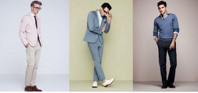 FOTO: Pánské obleky