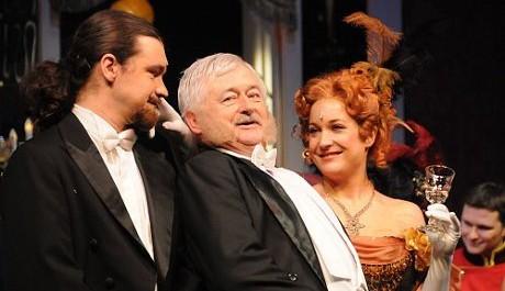 FOTO: Ladislav Špiner a Václav Dušek v operetě