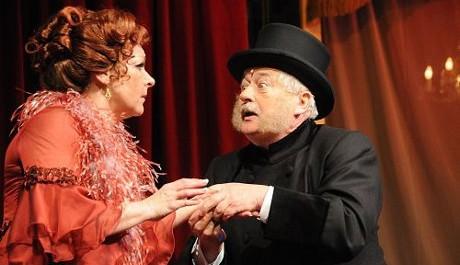 FOTO: Václav Dušek a Dagmar Novotná v operetě