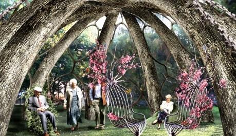 FOTO: Vizualizace projektu The Patient Gardener od Visiondivision