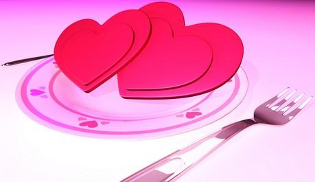FOTO: Láska na talíři