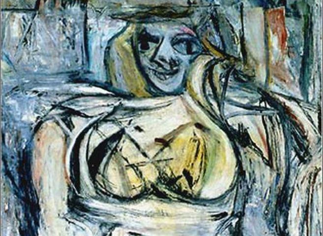 Žena III, W. Kooning