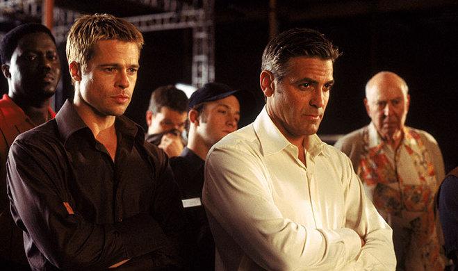 FOTO: George a Brad Pitt ve filmu Dannyho parťáci