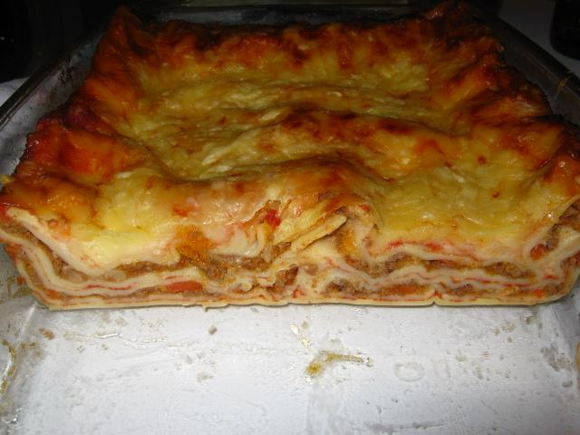 FOTO: Lasagne alla bolognese