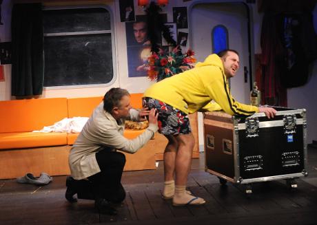 FOTO: Antonín Procházka a Michal Štěrba v Procházkově komedii Kouzlo 4D (DJKT, 2012)